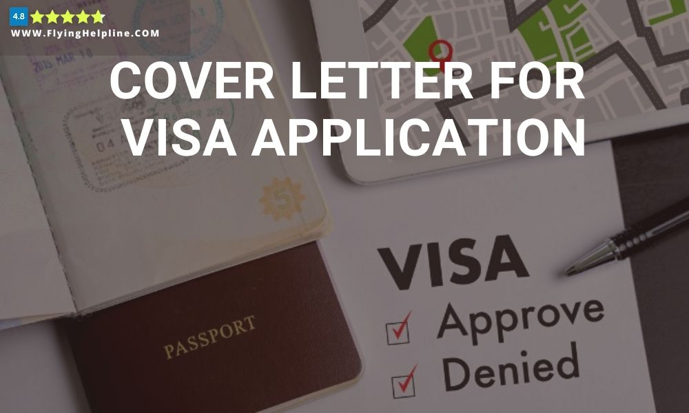 Free cover letter for visa application