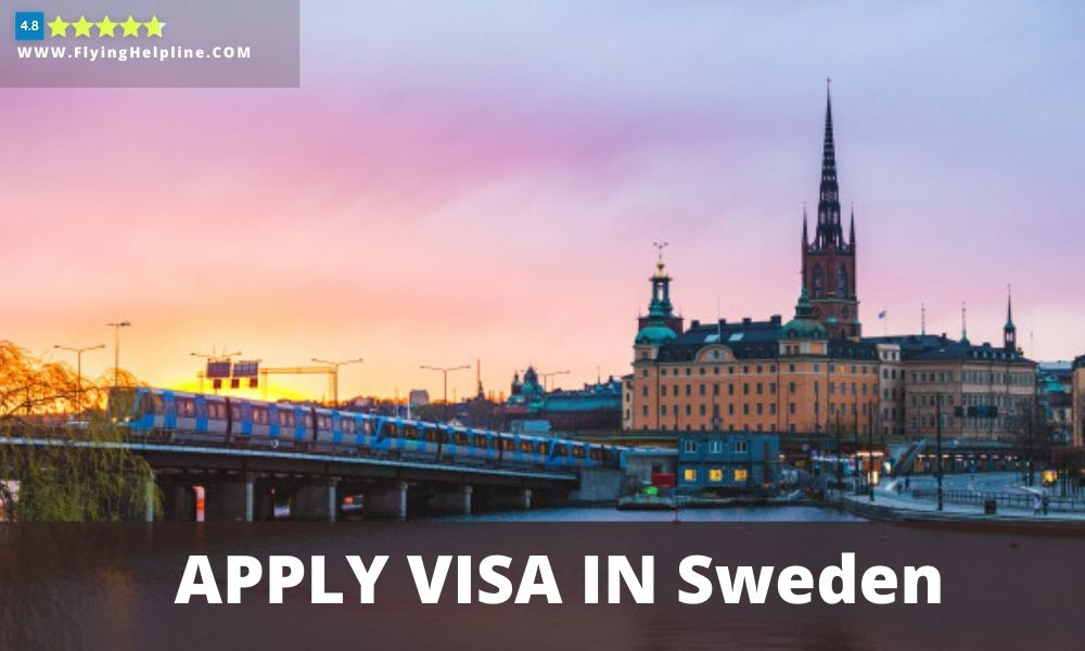 Apply Travel visa in Sweden